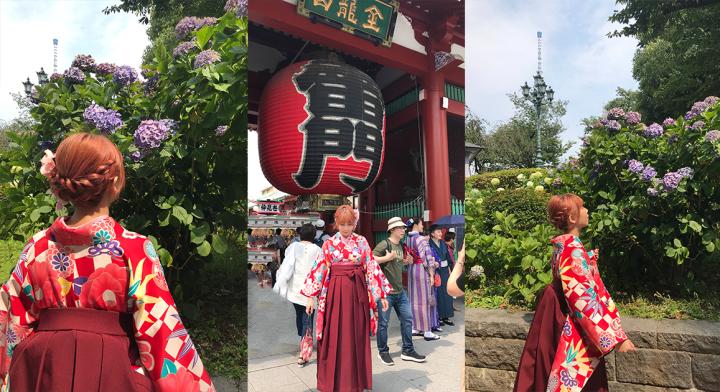 淺草愛和服—這次不穿和服,來穿大正時期女學生「袴」!