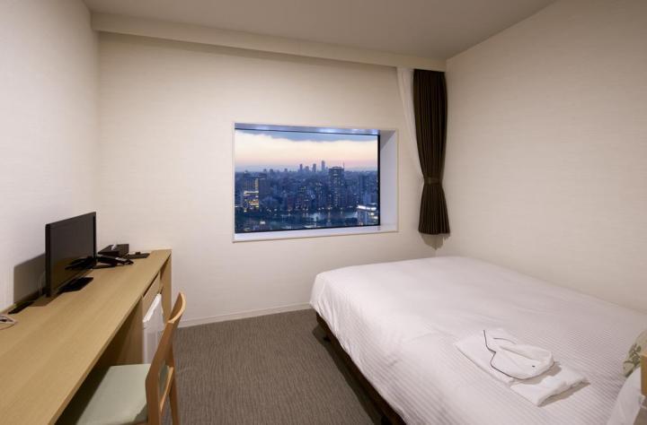 看得見晴空塔的上野住宿飯店推薦:上野生命之樹Hotel Lifetree Ueno
