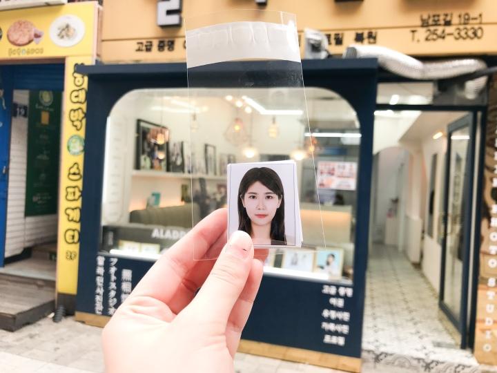 釜山南浦洞韓式證件照小店:알라딘 Photo Studio(含西面Spotlight比較心得)